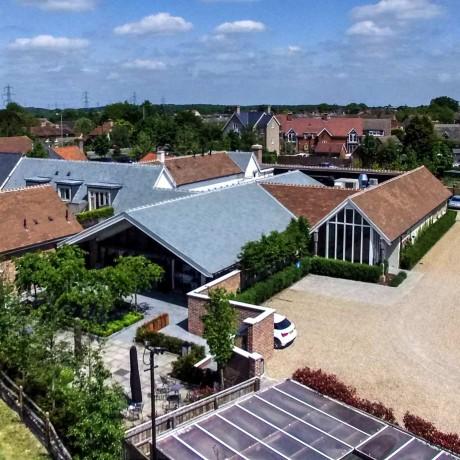 Aerial View Lion Inn