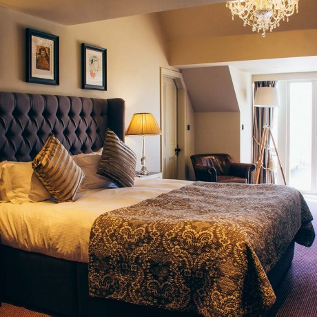 Bedroom at The Lion Inn