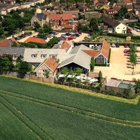Lion Inn Aerial View