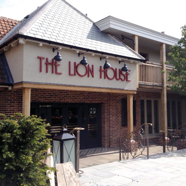 The Lion House Entrance