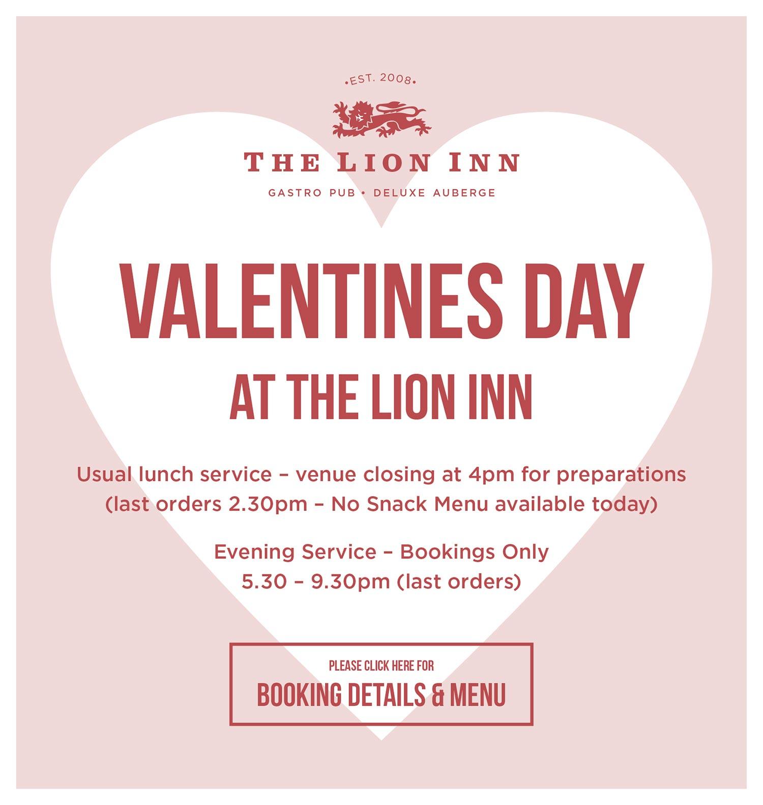 LionInn – Valentines 2018