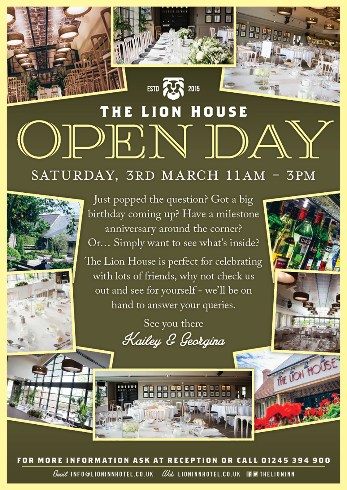 The Lion House Open Day